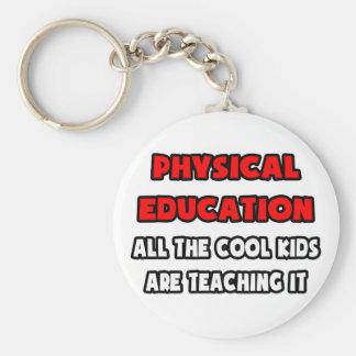 Funny Gym Teacher Shirts and Gifts Key Chain