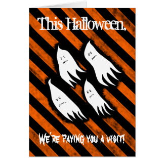 Funny Halloween candy Card