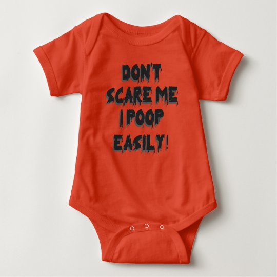 Funny Halloween: Don't Scare Me Baby Bodysuit