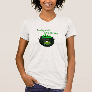 Funny Halloween | Everything's Better With Magic T-Shirt