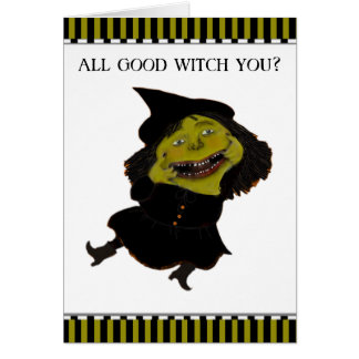 funny Halloween greeting cards