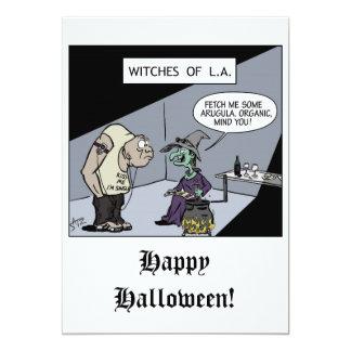 Funny Halloween invitation