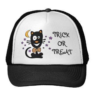 Funny Halloween Kitty Hat