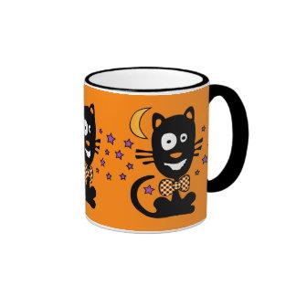 Funny Halloween Kitty Mug