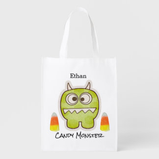 Funny Halloween Monster, Candy Corn Trick or Treat