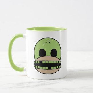Funny Halloween Monster Sock Monkey Coffee Mug