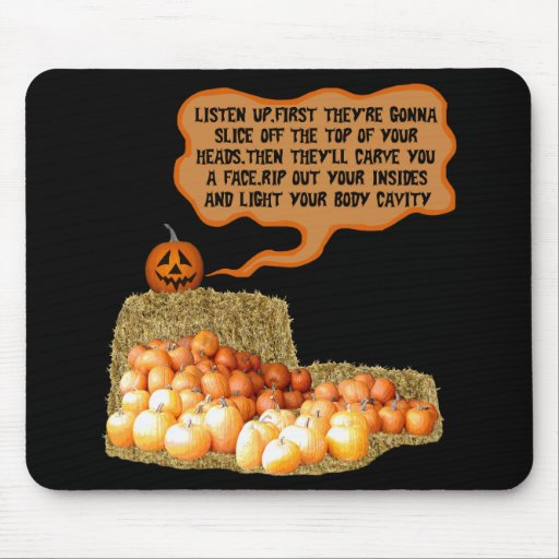 Funny halloween mousemat