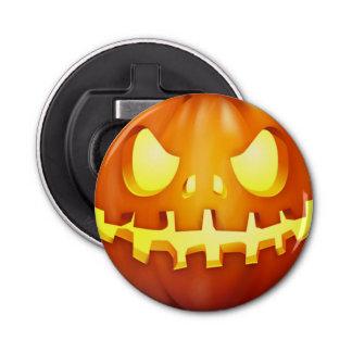 Funny Halloween Pumpkin Glowing Jack o lantern Bottle Opener