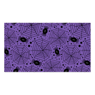 Funny Halloween Spiders Pack Of Standard Business Cards