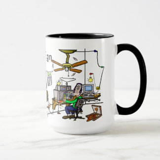 Funny Ham Cave Ham Radio Mug  Customize It!