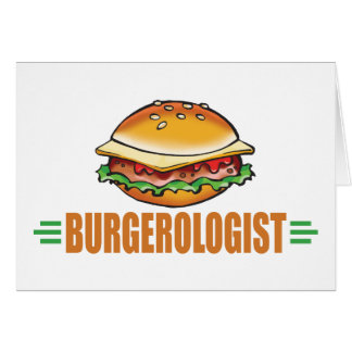 Funny Hamburger Card