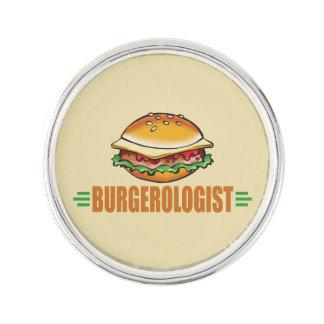 Funny Hamburger Lapel Pin