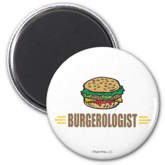 Funny Hamburger Refrigerator Magnet