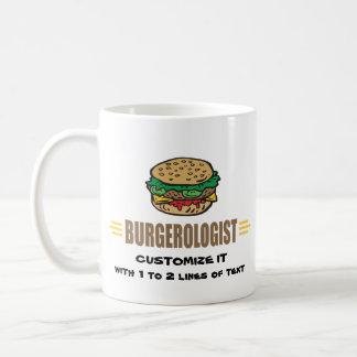 Funny Hamburger Coffee Mugs