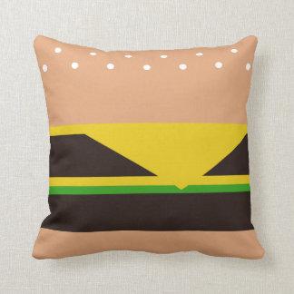 Funny Hamburger Pillow