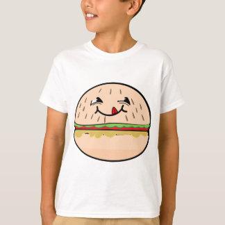 Funny Hamburger Smile T-Shirt