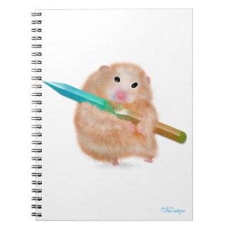 Funny Hamster Notebook