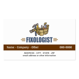 Funny Handyman Pack Of Standard Business Cards