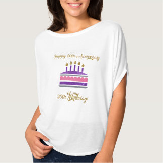 Funny - Happy 20th Anniversary of my 20th Birthday T-Shirt