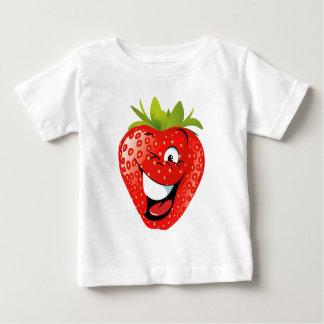 funny happy animated strawberry shirt
