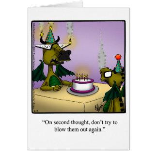 Funny Happy Birthday Greeting Card