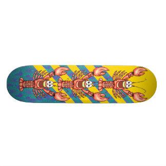 Funny Happy Lobster Custom Skateboard