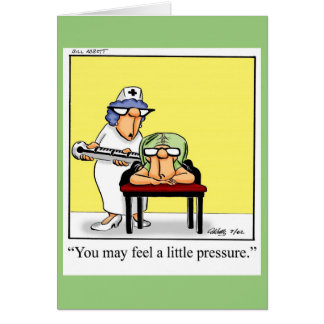 Funny Happy Nurses Day Greeting Card