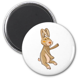 Funny Hare Magnet