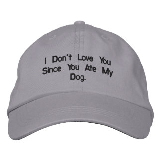 Funny Hats Embroidered Hats