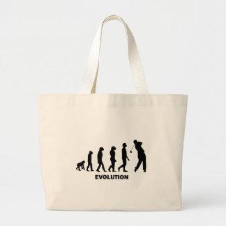 Funny hilarious golf jumbo tote bag