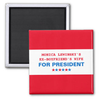 Funny Hillary Clinton Political Humor 2016 Magnet