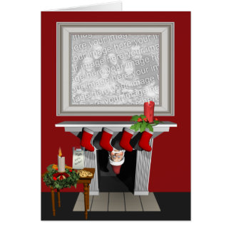 Funny Holiday photo card