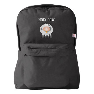 Funny Holy Cow It's Your Birthday Cute Backpack