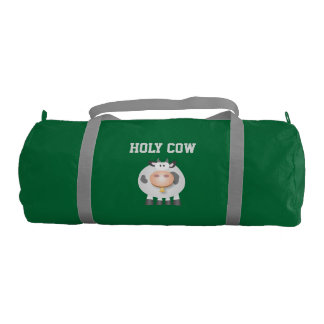 Funny Holy Cow It's Your Birthday Cute Gym Bag