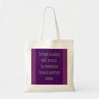 Funny Homeschool Mom Tote Bag
