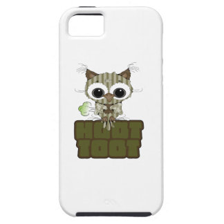 Funny Hoot Toot Cute Farting Owl iPhone 5 Cover