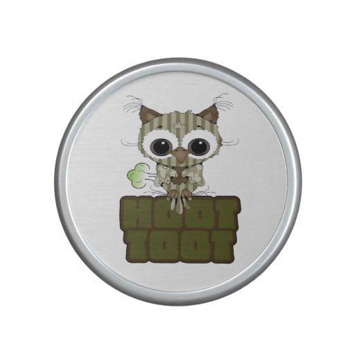 Funny Hoot Toot Cute Farting Owl Bluetooth Speaker
