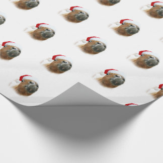 Funny horse Christmas Wrapping Paper