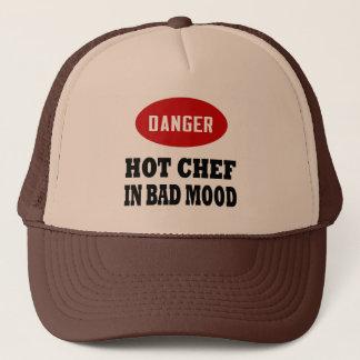 Funny Hot Chef Trucker Hat