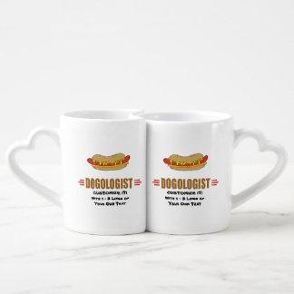 Funny Hot Dog Lovers Mug Set