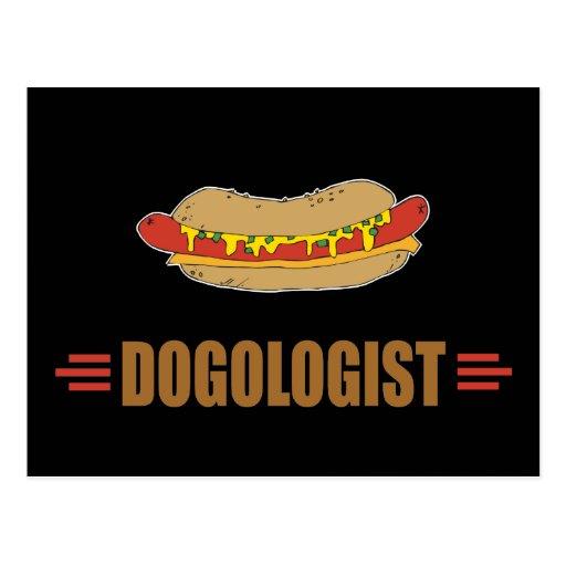 Funny Hot Dog Post Card