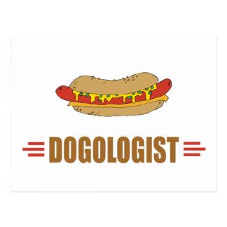 Funny Hot Dog Postcard