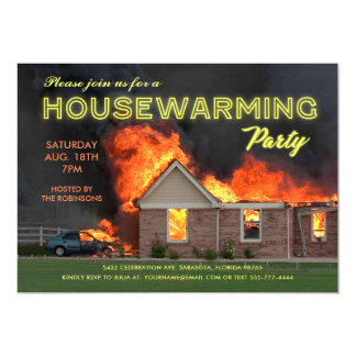 Funny Housewarming Party Invitations | En Fuego