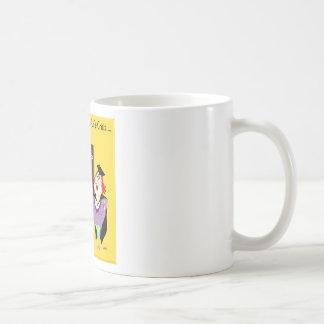 Funny How to survive a midlife crisis cartoon gift Coffee Mug
