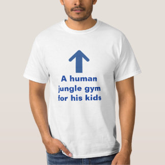 Funny Human Jungle Gym T-Shirt