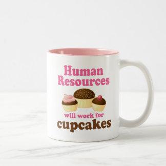 Funny Human Resources Two-Tone Mug