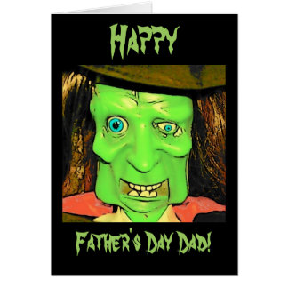 Funny Humor Monster Father's Day Card