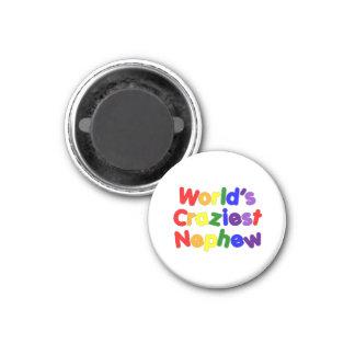 Funny Humorous Nephews : World's Craziest Nephew Magnets