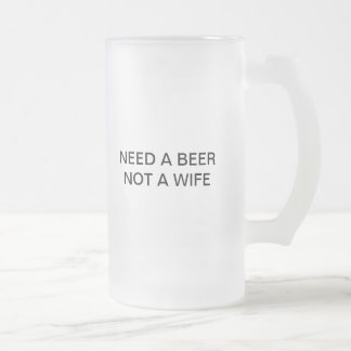 Funny Humours Products Frosted Glass Mug
