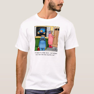 Funny Husband D.I.Y. Project Humor Tee Shirt